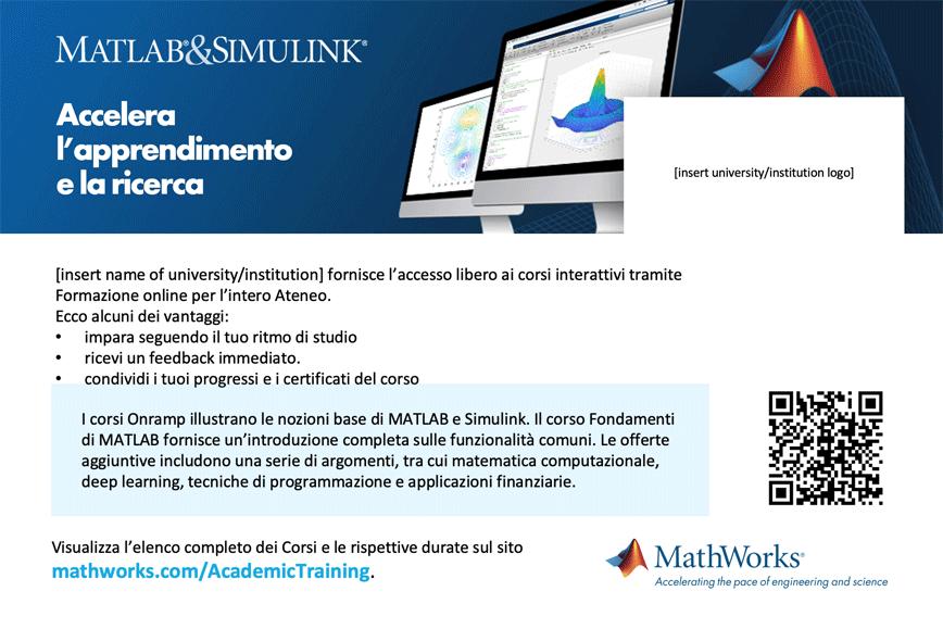 Modello cartolina Formazione online Campus-Wide License 4 x 6
