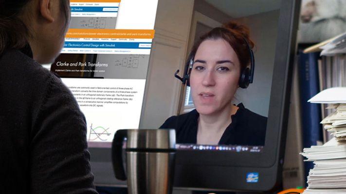 Evento online, demo virtuale