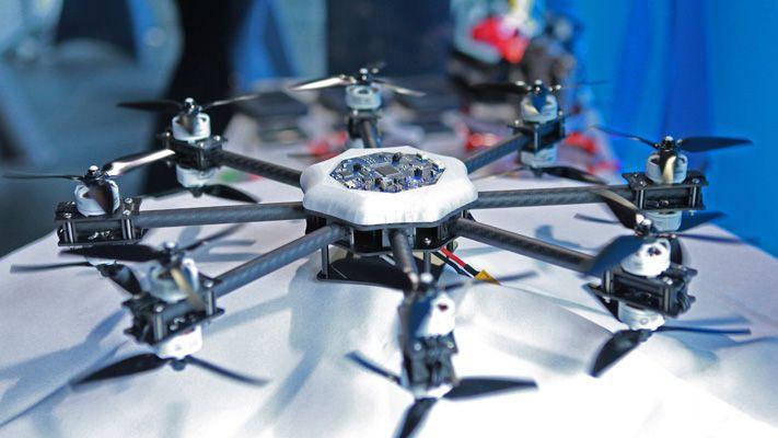 Drone stazione demo