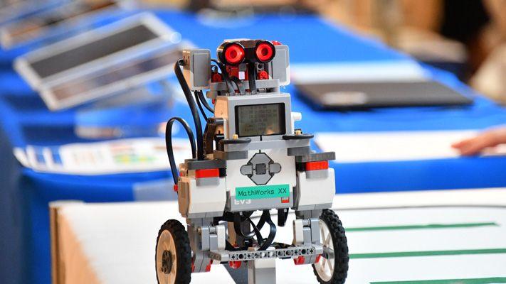 Robot stazione demo
