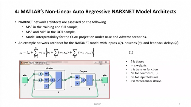 Learn about applying neural network models such as model interpretability per regulatory requirements and avoid over fitting.