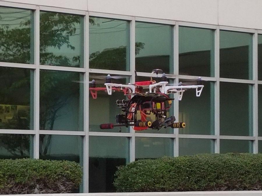 The IntelinAir RD-100 drone.