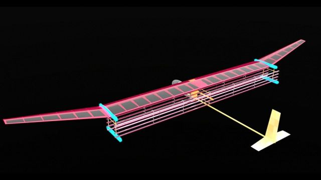 An Airplane That Flies Without Moving Parts