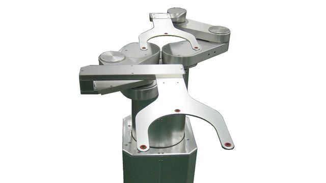 A SCARA robot.