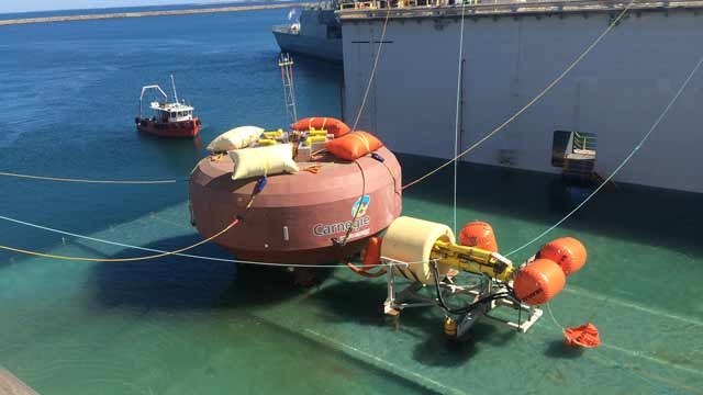 Carnegie Wave Energy Designs and Builds the World's First Operating Wave Farm