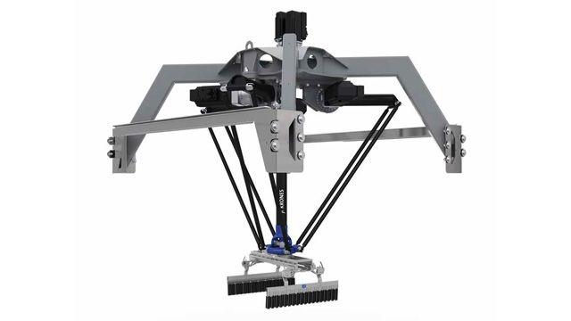 Krones sviluppa un gemello digitale robotico per la movimentazione pacchi
