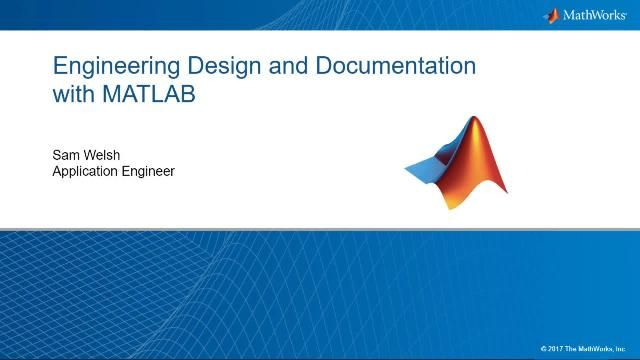 Learn how to develop, document and share engineering designs in MATLAB.  This webinar will use a multi-scale modeling example, from 1D analytical models to 3D Finite Element (FEA) models, to highlight various ways to document your work.