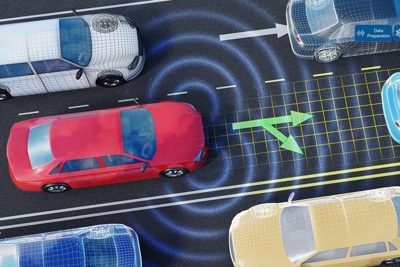 L'IA utilizzata in scenari di guida autonoma.