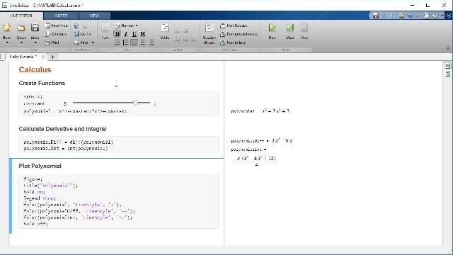Scopri come eseguire calcoli con MATLAB e Symbolic Math Toolbox.