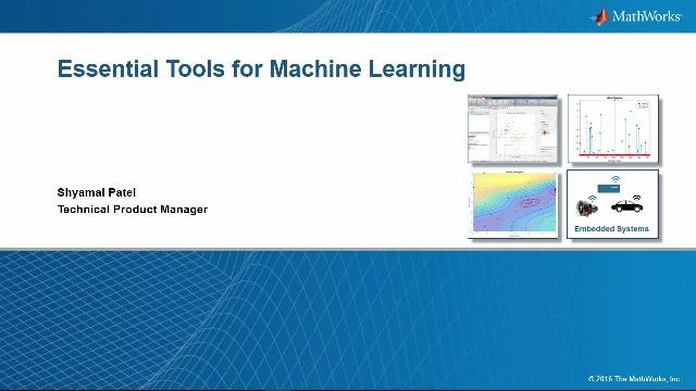 Scopri come applicare, valutare, affinare e distribuire le tecniche di machine learning con MATLAB.