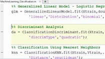Scorpi come usare gli strumenti di Machine Learning in MATLAB per risolvere problemi di regressione, clustering e classificazione.