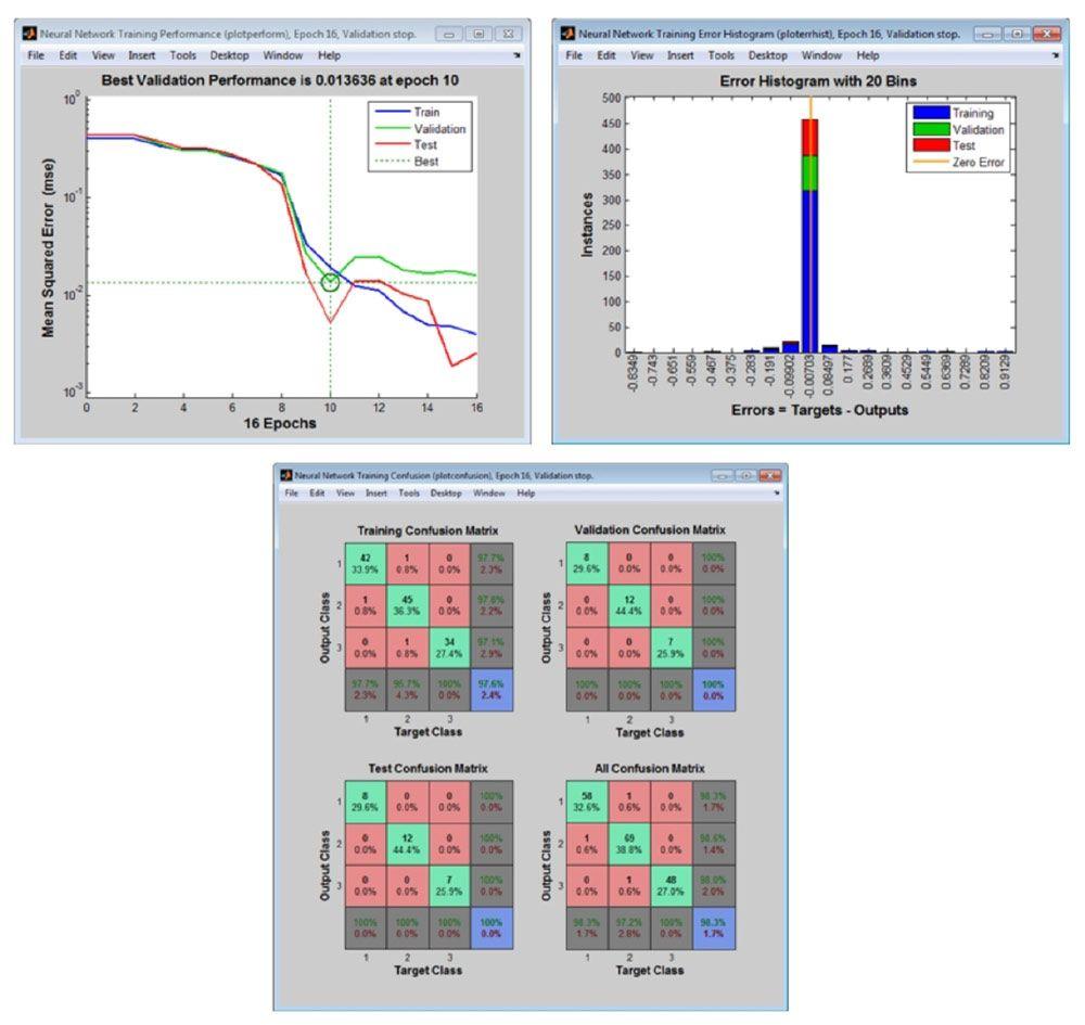 Grafici di post-elaborazione per l'analisi delle prestazioni della rete.