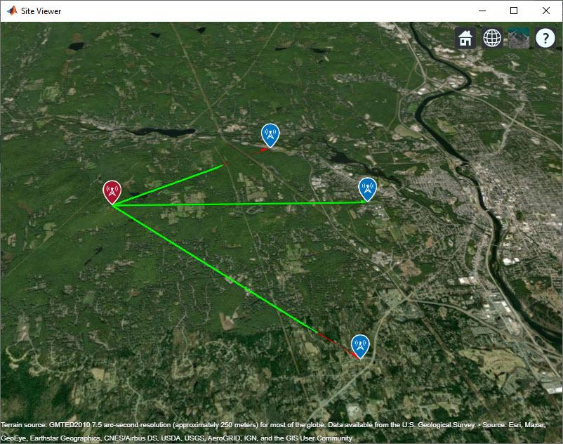 Planning a 5G Fixed Wireless Access Link over Terrain