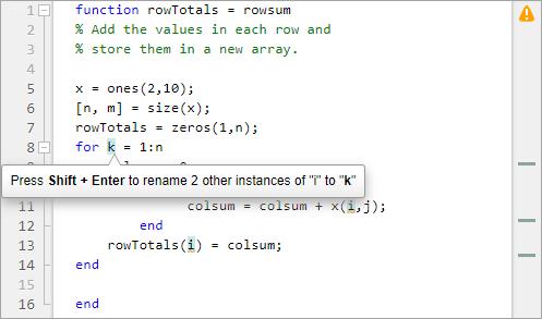 Writing help files matlab