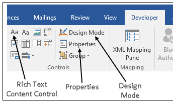 Add holes in a microsoft word template matlab simulink to work with holes in a word template use the word developer ribbon if the developer ribbon does not appear add it ccuart