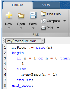 factorial in matlab Read MuPAD program file into symbolic engine - MATLAB read ...