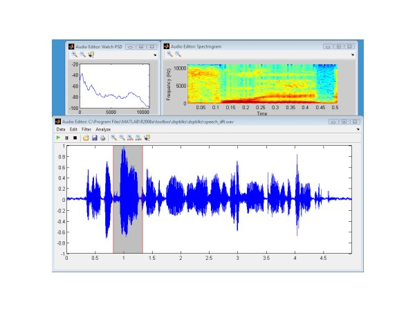 Simple Audio Editor File Exchange Matlab Central