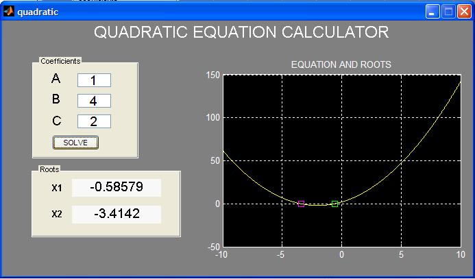 Sharp el-520w find roots of quadratic and cubic equations youtube.