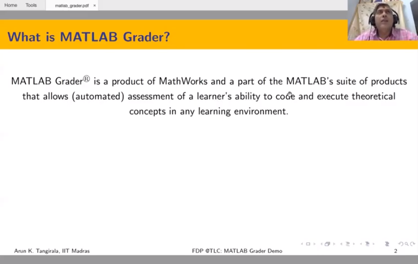 MATLAB Grader Tutorial - Part 1
