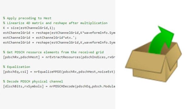 Codice MATLAB aperto e personalizzabile.