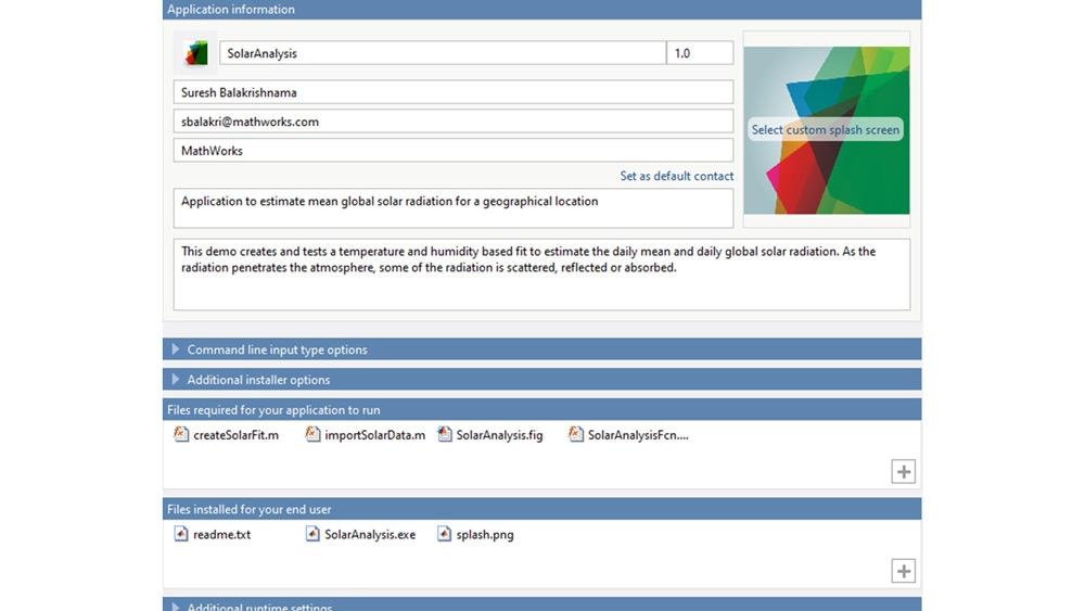 Personalizzazione del programma di installazione dell'applicazione in base ai propri requisiti.