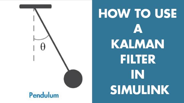 Stima la posizione angolare di un sistema a pendolo semplice utilizzando un filtro Kalman in Simulink. Scoprirai come configurare i parametri di blocco del filtro Kalman come il modello di sistema, le stime sullo stato iniziale e le caratteristiche del rumore.