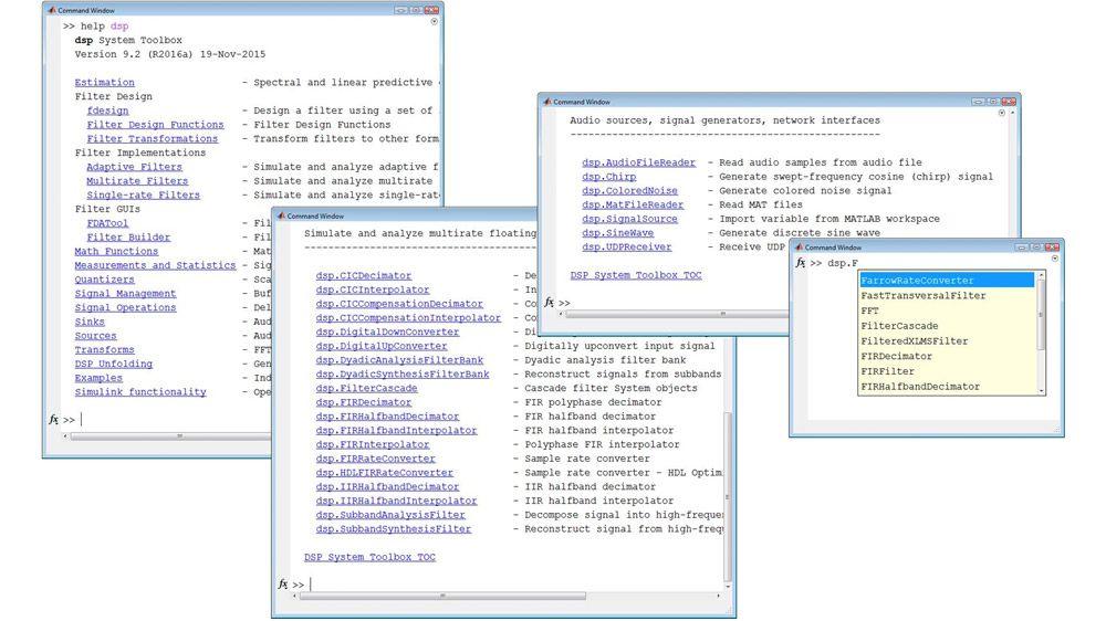 Librerie per l'elaborazione dei segnali in streaming in MATLAB