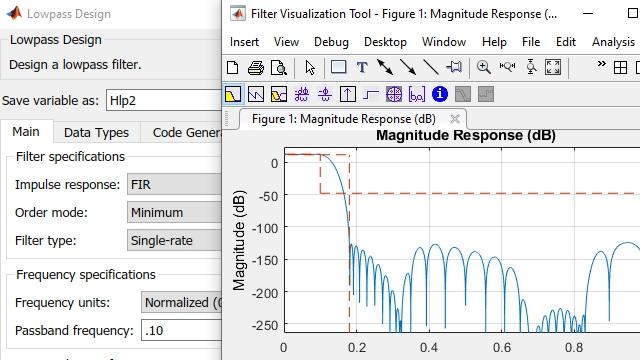 Progettazione e analisi di filtri avanzati