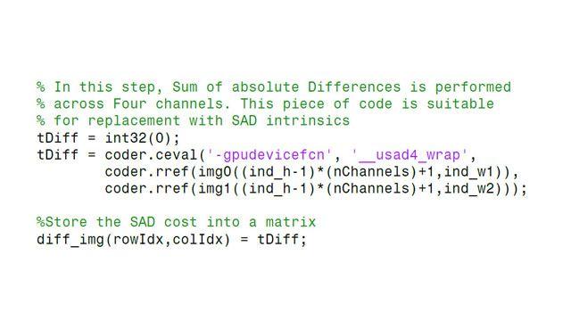 Integrazione di codice CUDA esistente nel codice generato.