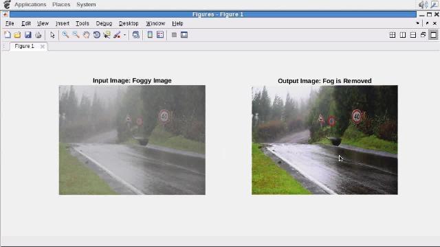 Utilizza GPU Coder per generare il codice CUDA da un algoritmo di correzione della nebbia scritto in MATLAB.