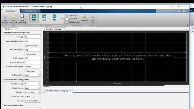 Esegui il test di segnali wireless con MATLAB e le apparecchiature di test. Per valutare la qualità del segnale, guarderemo i grafici a costellazione e calcoleremo l'ampiezza del vettore di errore (o EVM) del segnale.