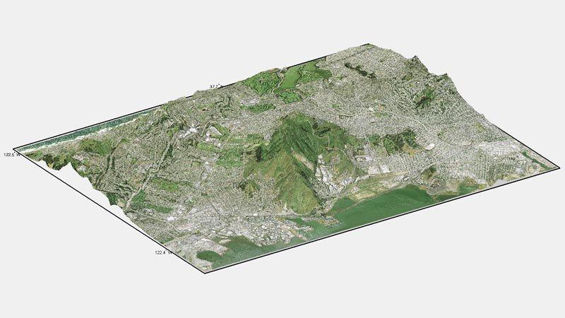 Analisi geomorfologica e in elevazione