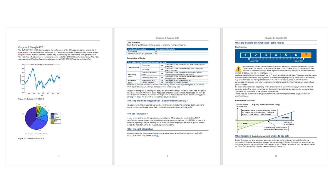 Definizione del layout e della formattazione dei report usando i modelli.