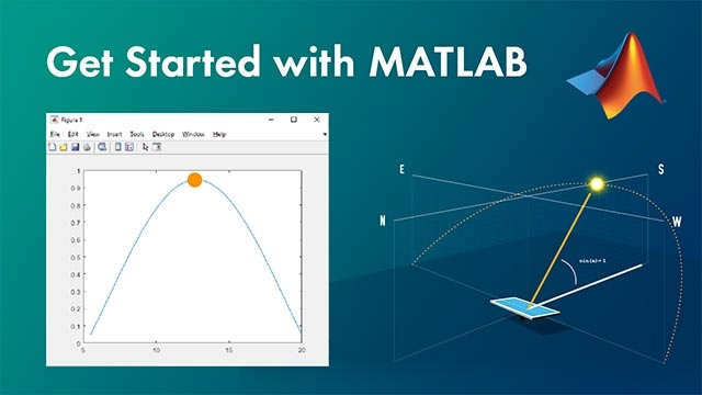 Primi passi con MATLAB guardando un esempio. Questo video ti mostra le basi e ti dà un'idea di cosa significa lavorare in MATLAB.