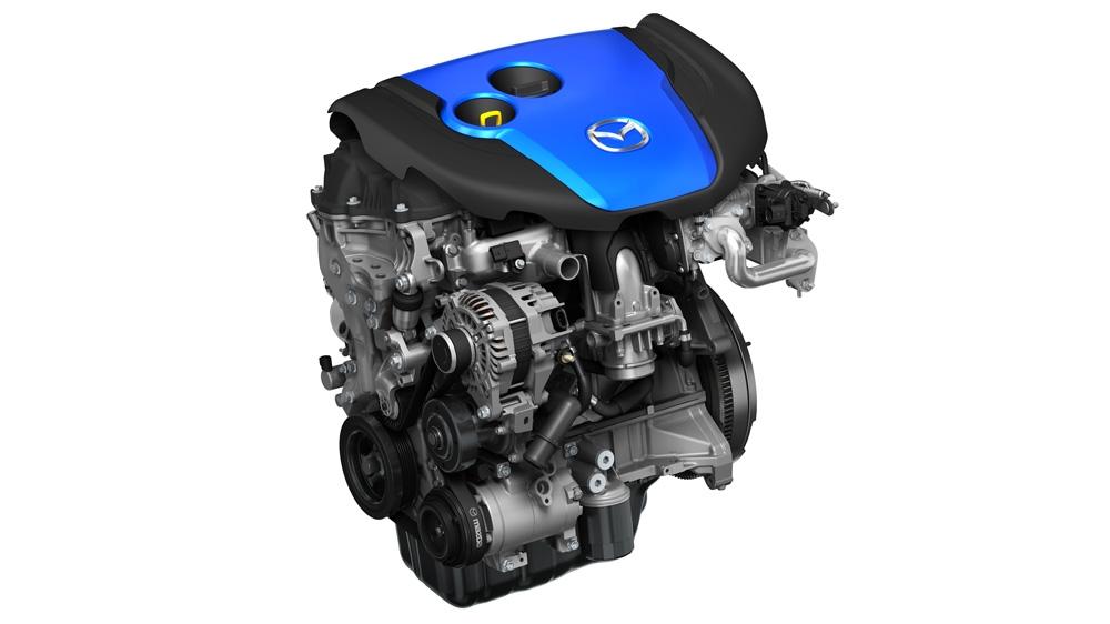 Motore Mazda SKYACTIV-D.