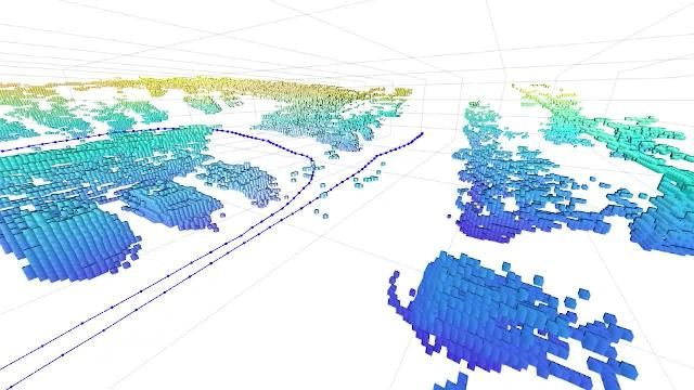 Condurre attività di Simultaneous Localization and Mapping 3D (SLAM) con nuvole di punti LIDAR usando Navigation Toolbox