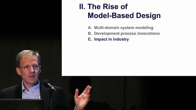 Jack Little, presidente e cofondatore di MathWorks, discute l'impatto della progettazione model-based nel mondo accademico e lavorativo.