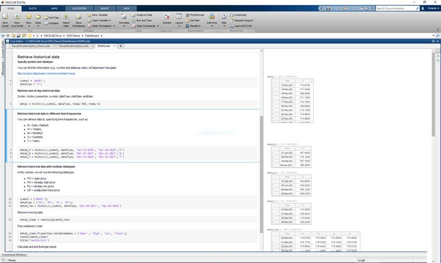 Datafeed Toolbox