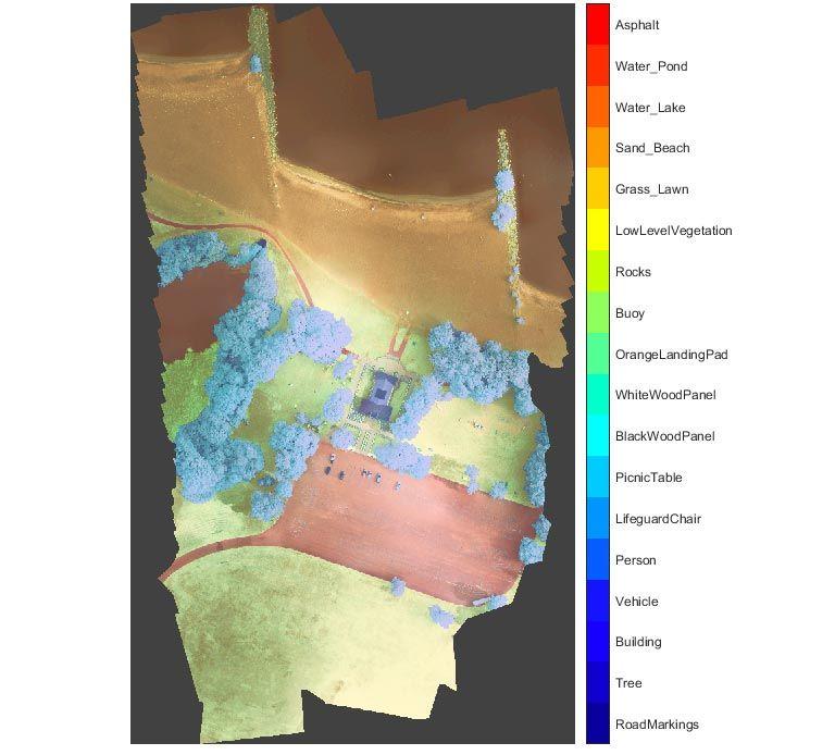 Segmentazione semantica - Immagine satellitare multispettrale
