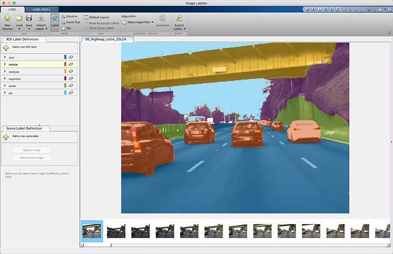 Segmentazione semantica - App Image Labeler