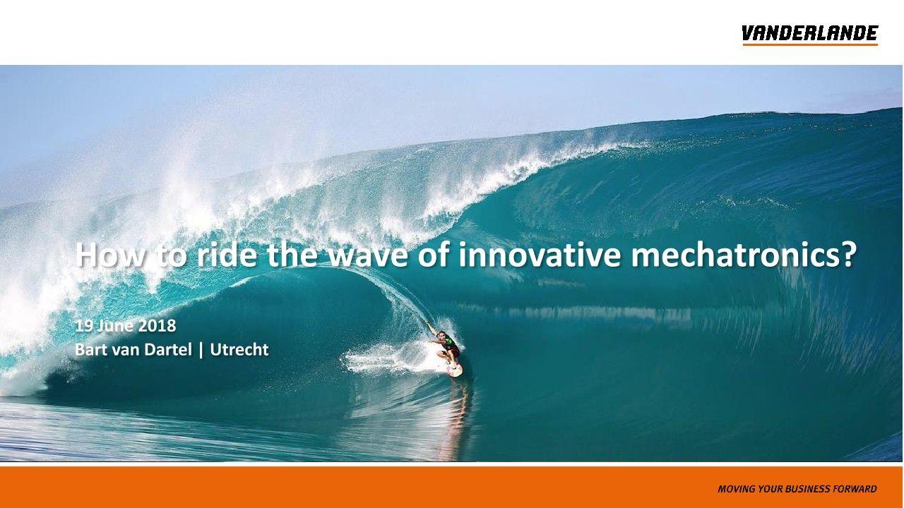 Come cavalcare l'onda della meccatronica innovativa?