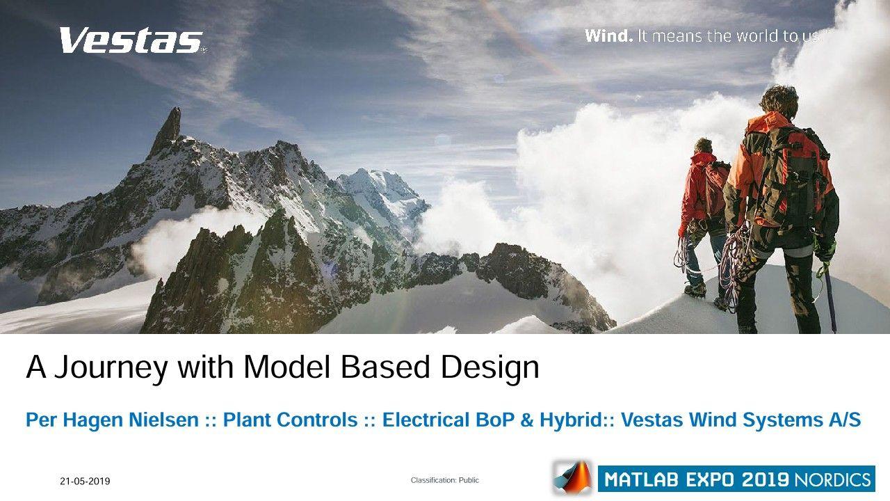 Soluzioni per centrali energetiche ibride Vestas: un viaggio con la progettazione Model-Based