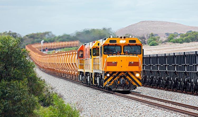 Treno per minerali ferrosi