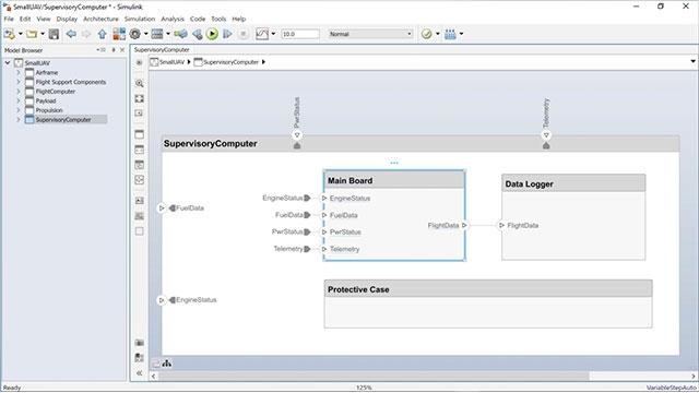 Scopri come creare un modello comportamentale Simulink da un componente System Composer e come creare un componente System Composer da un modello Simulink esistente.