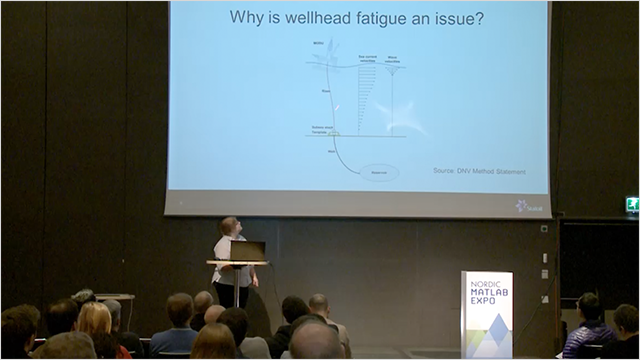 This presentation shows how Statoil uses MATLAB in the postprocessing steps when using offshore measurements in estimating wellhead fatigue status.