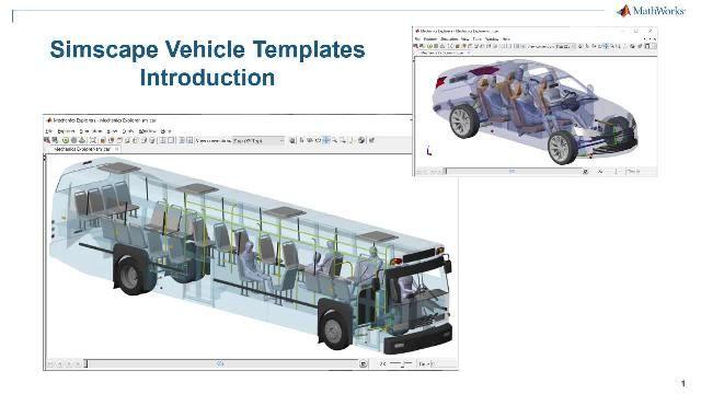 Guarda una panoramica su Simscape Vehicle Templates. I template forniscono un modello configurabile del veicolo, una libreria di componenti personalizzabili e un'interfaccia utente che consente di personalizzare il veicolo e l'evento che si desidera eseguire.