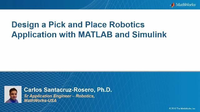 Come risolvere un problema di pick and place con un robot manipolatore in MATLAB e Simulink