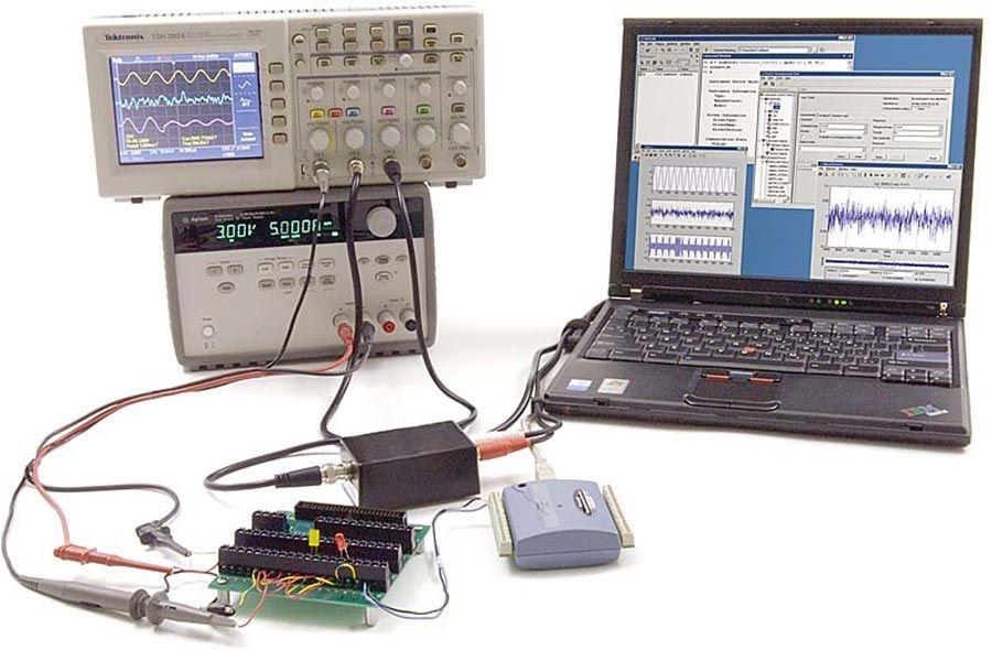 Test di semiconduttori