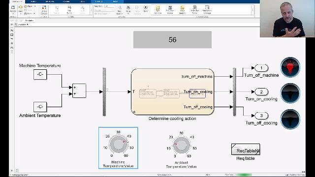 Esegui l'authoring delle valutazioni temporanee per test con Simulink Test per verificare requisiti complessi dipendenti dalla temporizzazione. Puoi usare un formato di linguaggio naturale con semantica non ambigua per specificare le valutazioni.