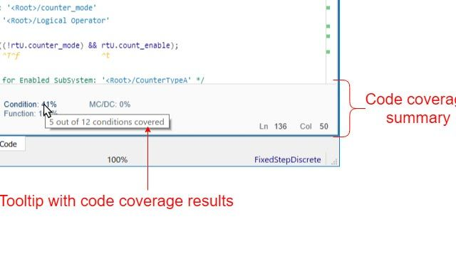Copertura del codice per i modelli nelle simulazioni Software-in-the-Loop (SIL) e Processor-in-the-Loop (PIL)
